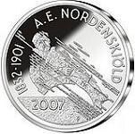 Финляндия 10 евро, 2007 год норденшельд нильс адольф эрик сущевский вал д 5 стр 20